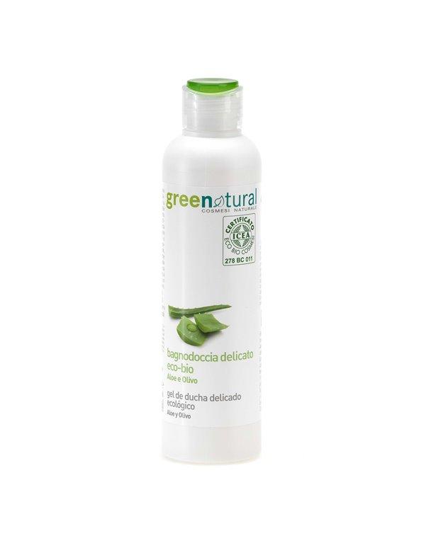 Gel de baño de aloe y aceite de oliva, 1 ud