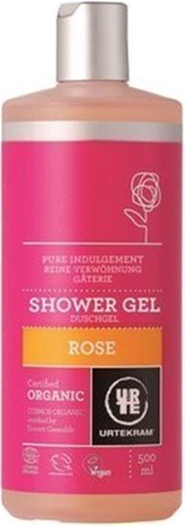 Gel de ducha ecológico de rosa