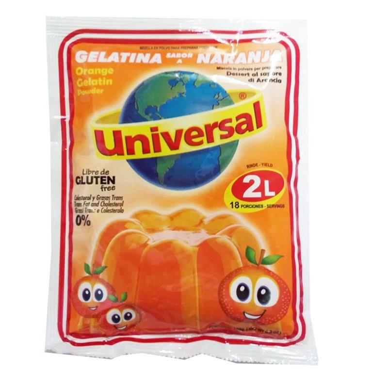 GELATINA NARANJA UNIVERSAL 2 LITROS