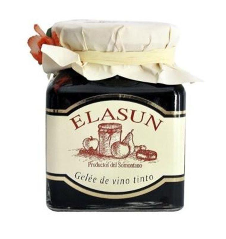 Gelée de vino tinto Elasun