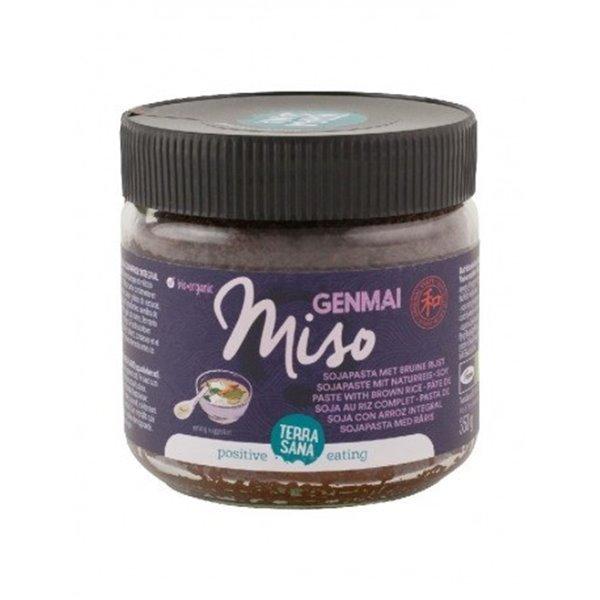 Genmai Miso No Pasteurizado Vidrio