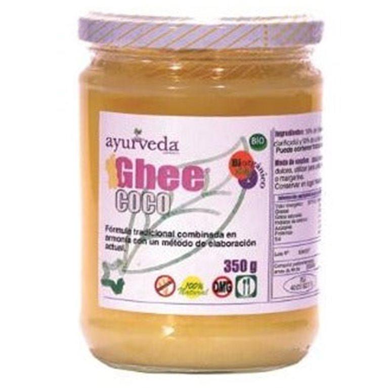 Ghee Mantequilla Clarificada con Aceite de Coco Bio 350g, 1 ud