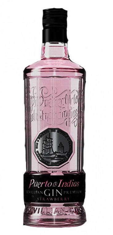 Gin Premium Puerto de Indias Strawberry