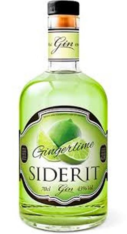 Gin Siderit Ginger Lime, 1 ud