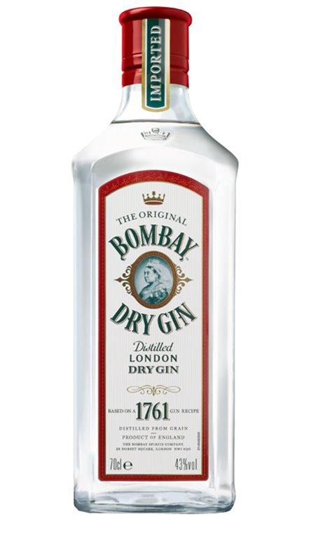 Ginebra Bombay Original Dry Gin