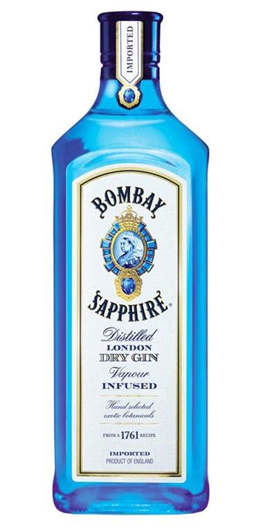 'Ginebra Bombay Sapphire London Dry Gin