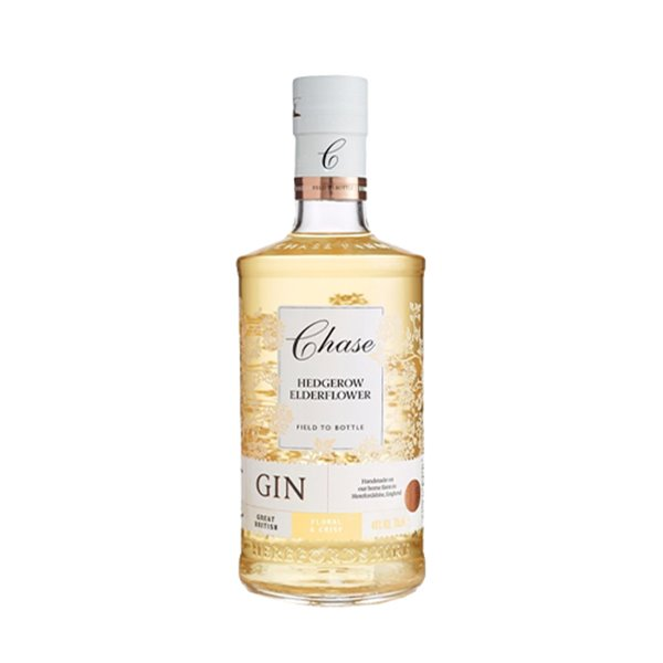 Ginebra Chase Hedgerow Elderflower 70cl