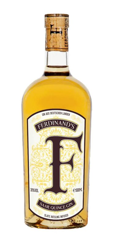 Ginebra Ferdinand's Quince gin 50cl