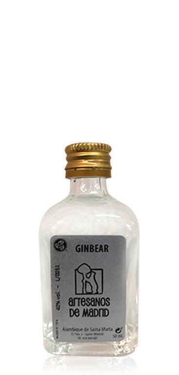 Ginebra Ginbear miniatura 5cl
