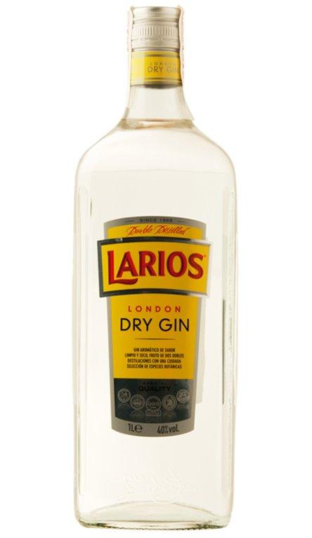 Ginebra Larios 1 Litro London Dry Gin
