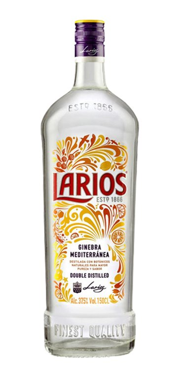 Ginebra Larios London Dry Gin 150cl