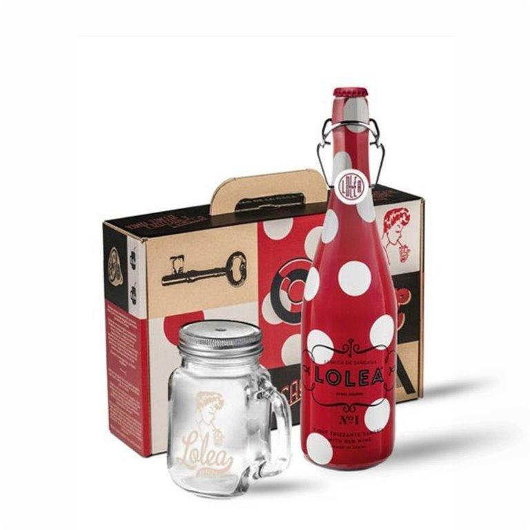 Kit Mason Jar Sangría Lolea nº1 750 ml., 1 ud