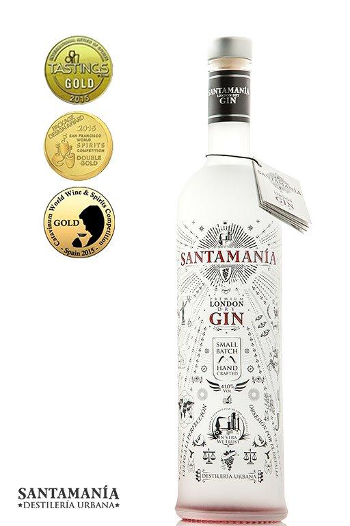 'Ginebra Santamania London Dry 70cl.