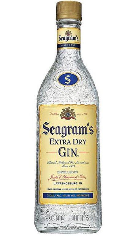 'Ginebra Seagram's Gin