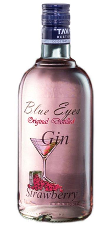Ginebra Strawberry Blue Eyes