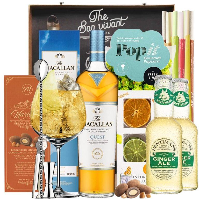 Ginger Ale & Macallan Quest