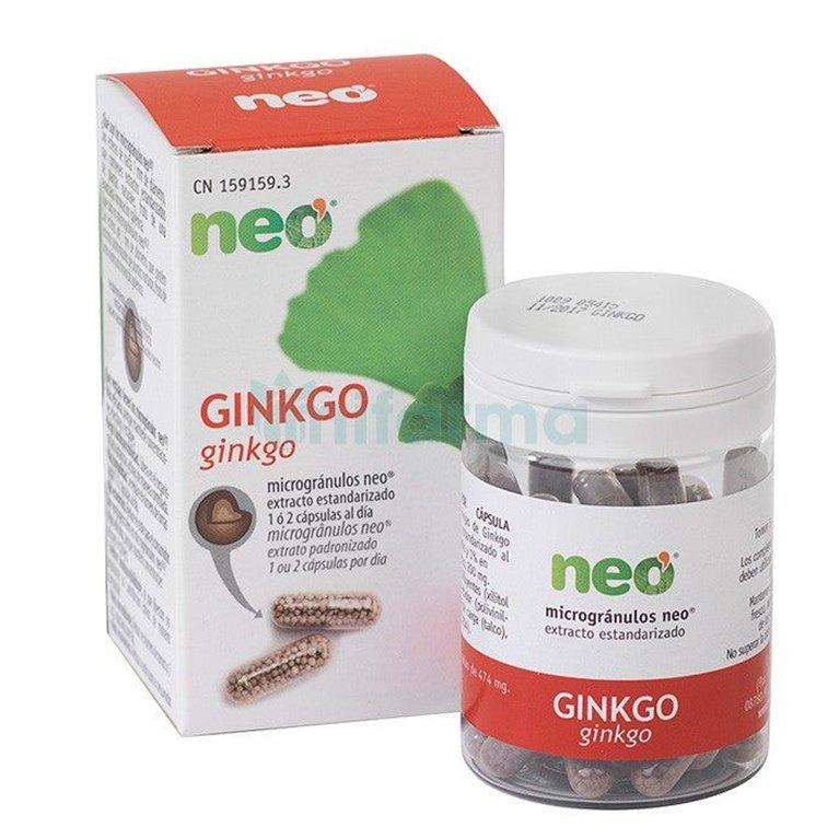 Ginkgo Neo 45 Cápsulas