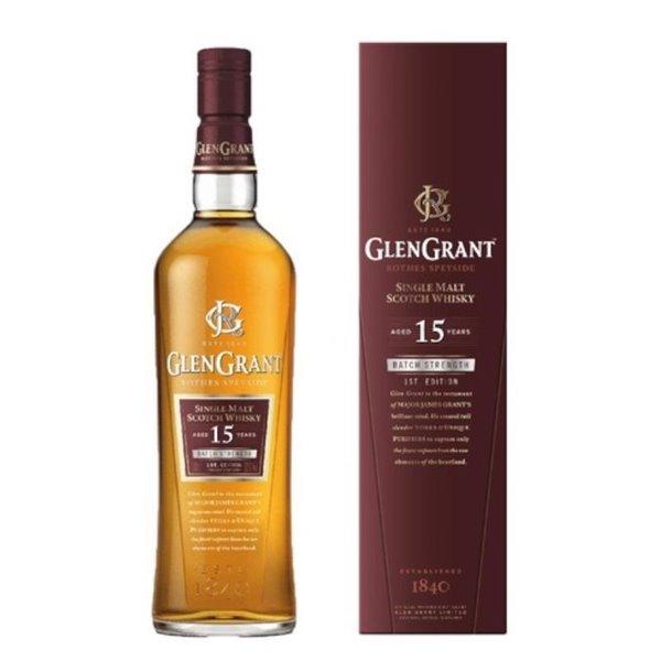 GLEN GRANT 15 YO 1L. + ESTUCHE