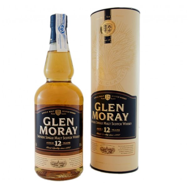 GLEN MORAY 12 YO SINGLE MALT 0,70 LITROS 40º