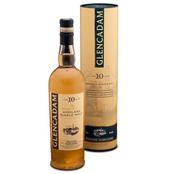 Glencadam Single Malt Whisky 10 Años