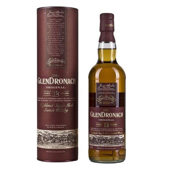 GLENDRONACH 12 YO 0,70 L. + ESTUCHE