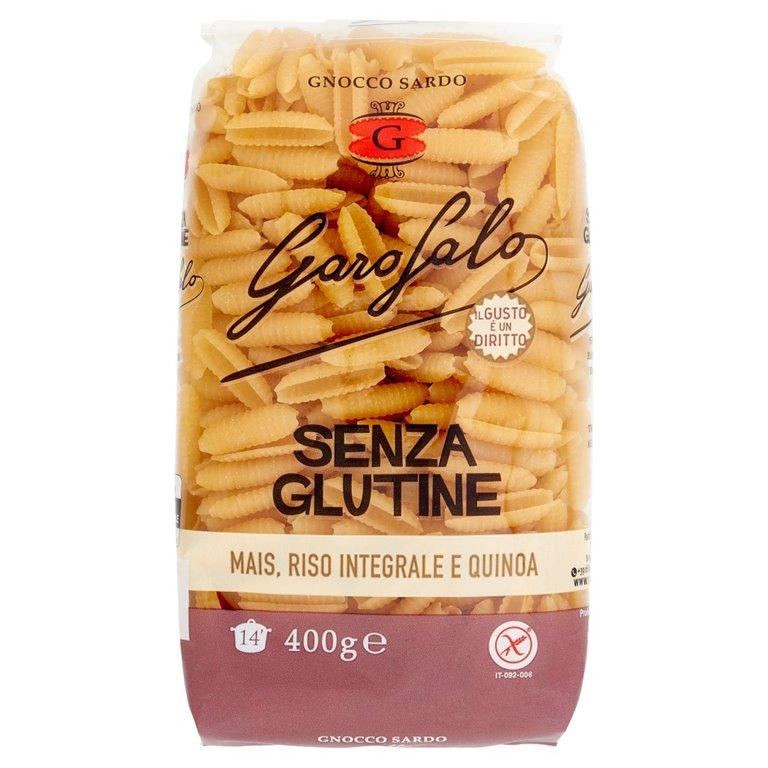 Gnocco Sardo de Maíz con Arroz Integral y Quinoa Sin Gluten 400g