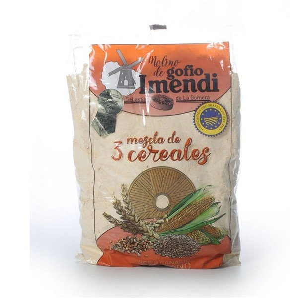 Gofio canario Imendi 3 Cereales