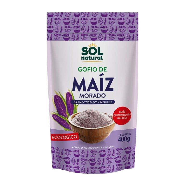 Gofio de Maíz Morado Integral Bio 400g