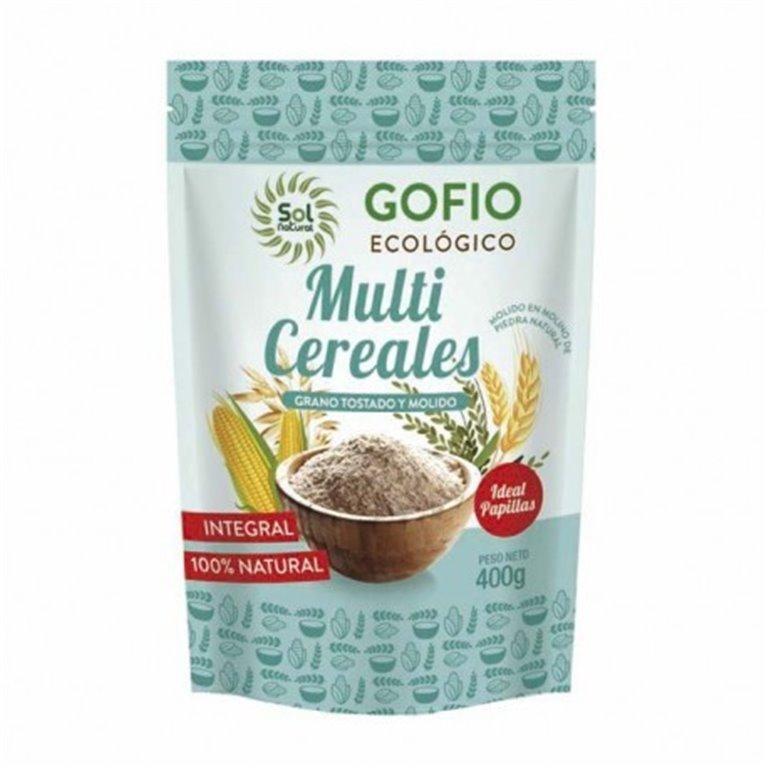 Gofio Multicereales Integrales Bio 400g