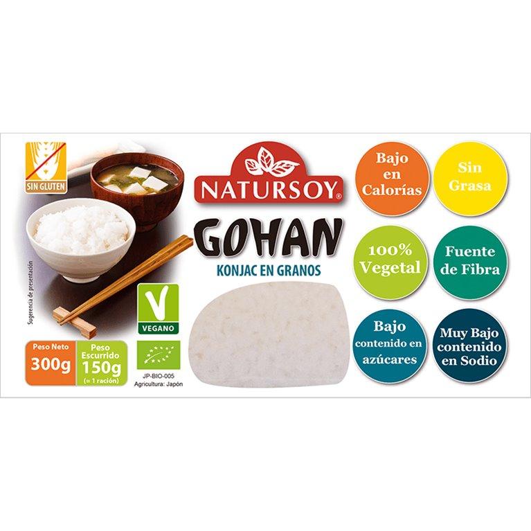 Gohan (Konjac en Granos) Bio 300g, 1 ud