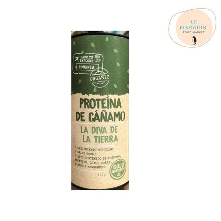 Gold Nutrition. Proteína de cañamo 125gr