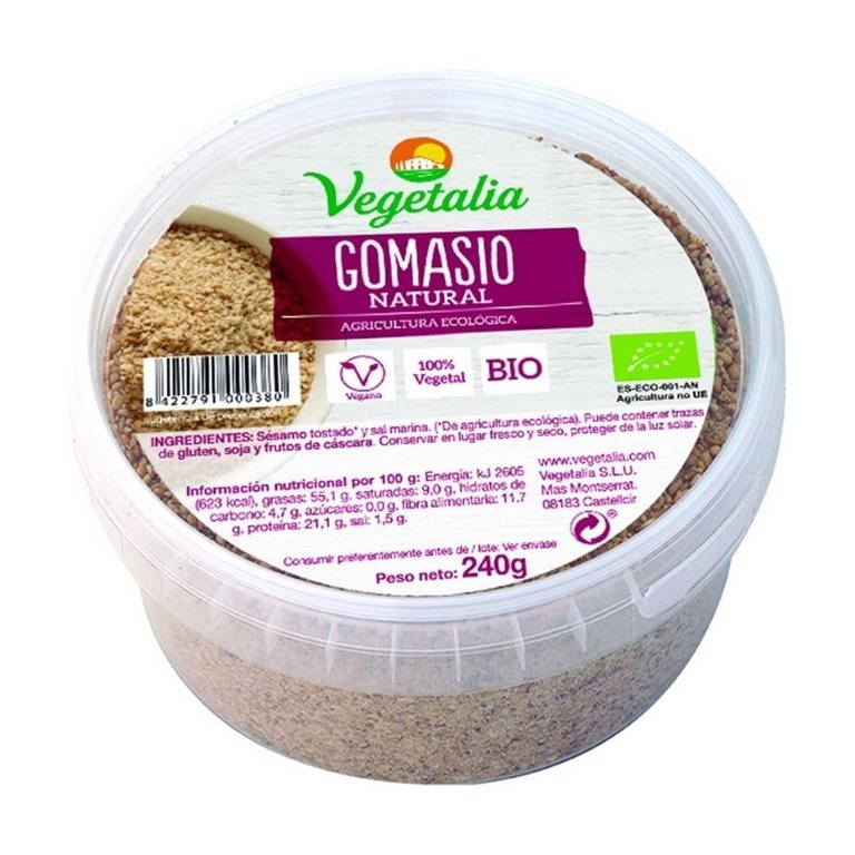 Gomasio Bio 240g, 1 ud
