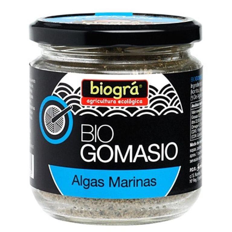 Gomasio con Algas y Sal del Himalaya Bio 120g, 1 ud