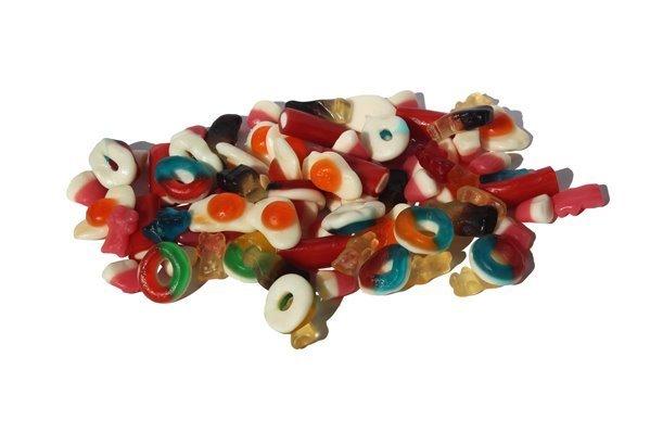 Gominolas Brillantes surtidas La Azucena (bolsa de 1 kg)