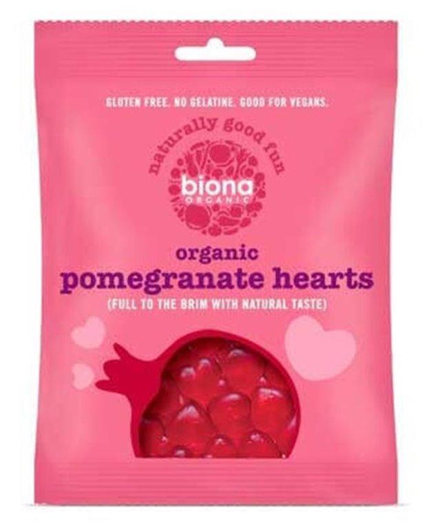 Gominolas corazón de granada BIO
