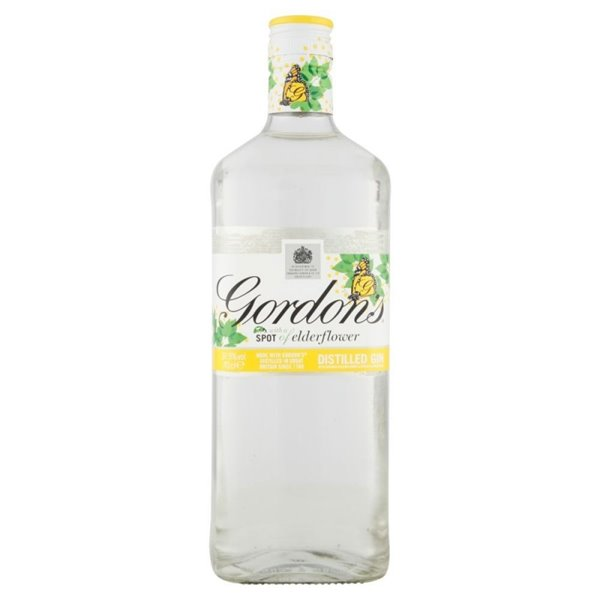 GORDONS ELDERFLOWER 0,70 L.
