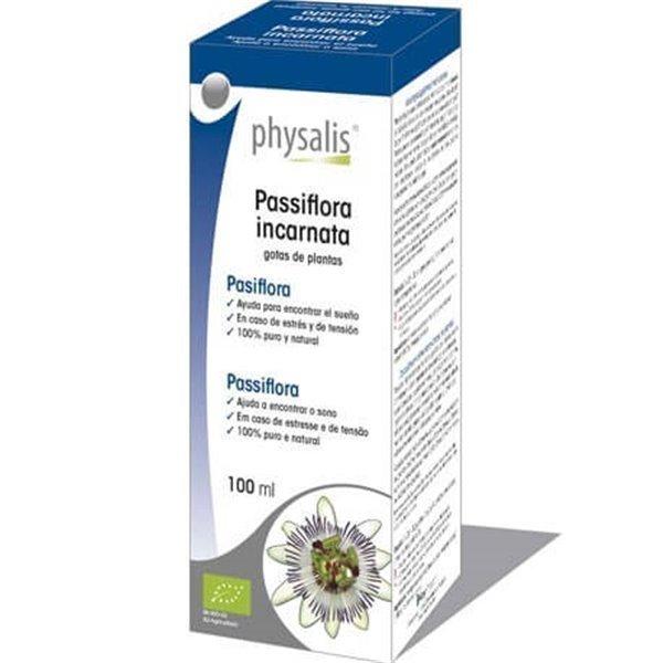 Gotas De Plantas Pasiflora