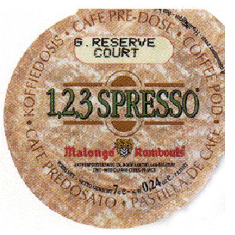 Gran Reserva Monodosis 9gr. Café Malongo. 100un., 1 ud