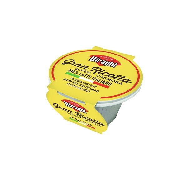 Gran Ricotta Super Cremosa Fresca 230g Biraghi
