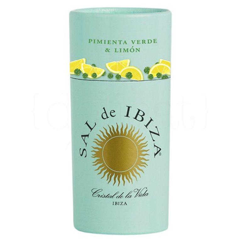 Granito Pimienta Verde y Limón 85gr. Sal de Ibiza. 12un., 1 ud