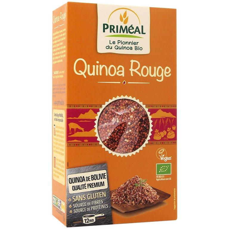 Grano de Quinoa Real Roja Bio 500g