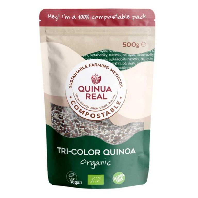 Royal Quinoa Bean Tricolor Bio Fairtrade 500g