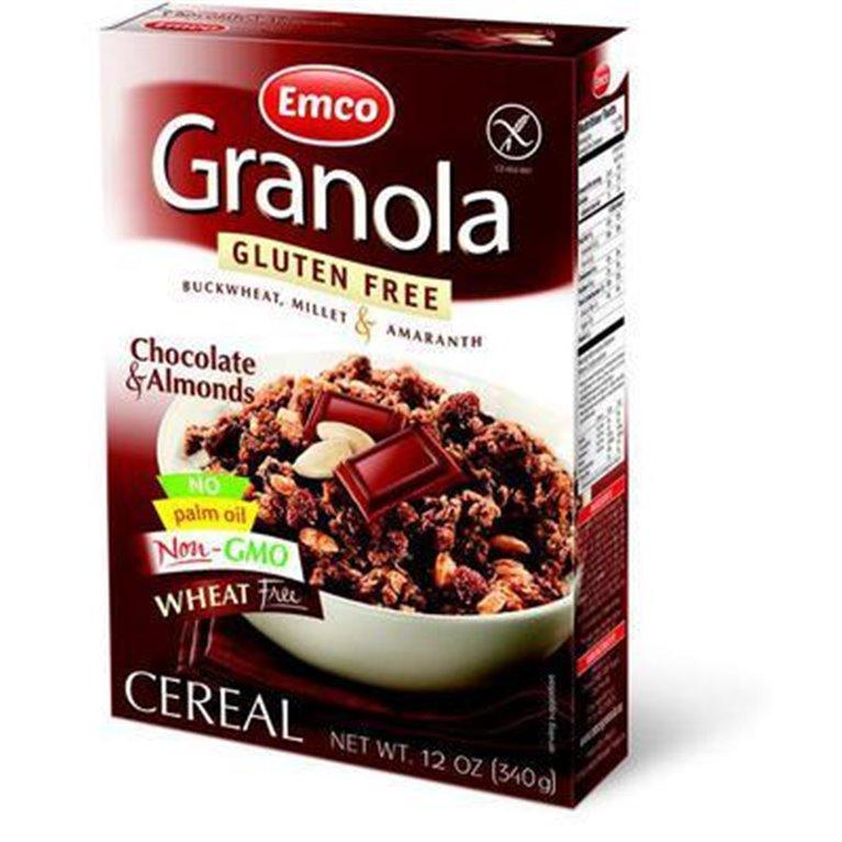 Granola con Chocolate y Almendras Sin Gluten 340g