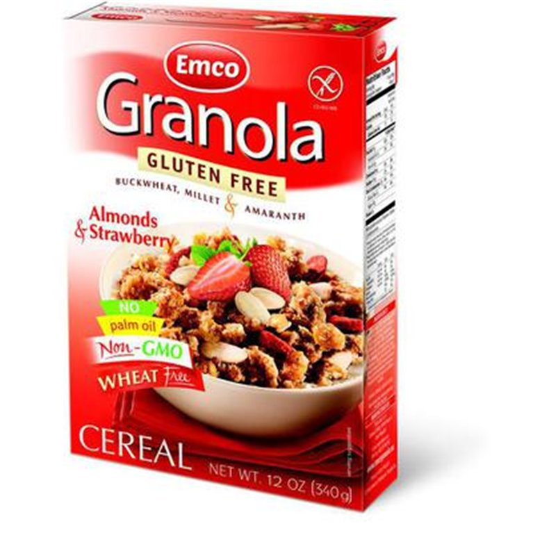 Granola con Fresas y Almendras Sin Gluten 340g