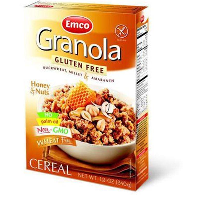 Granola con Miel y Nueces Sin Gluten 340g