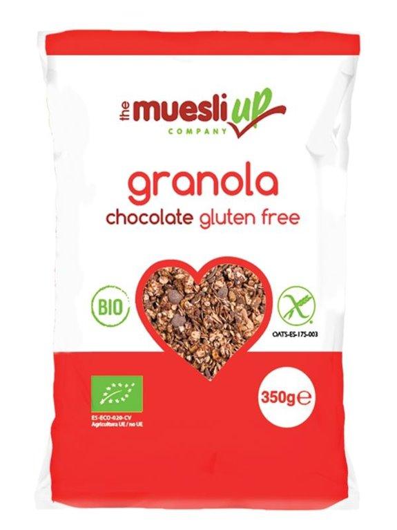 Granola de Avena con Chocolate Sin Gluten Bio 350g, 1 ud