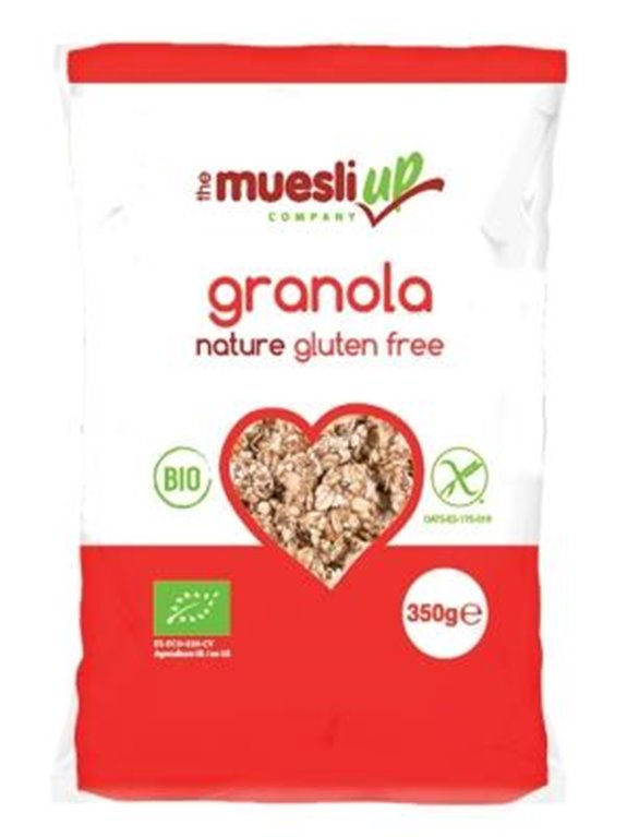 Granola de Avena Sin Gluten Bio 350g, 1 ud