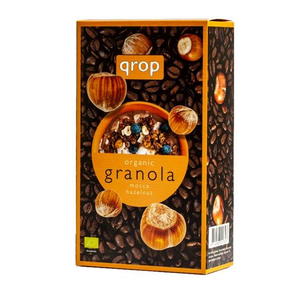 Granola de Cebada y Avena con Café y Avellanas Bio 400g