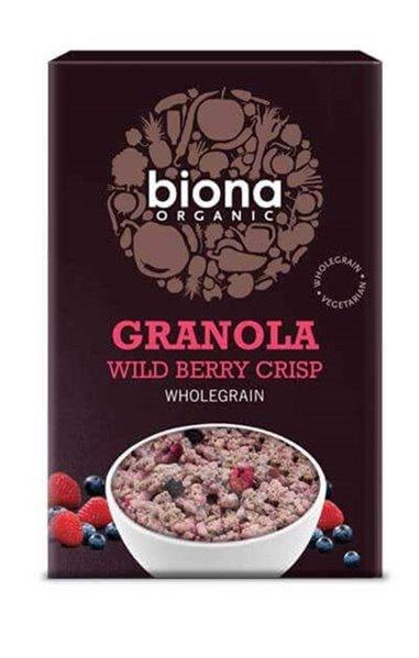 Granola de frutos rojos BIO - Biona