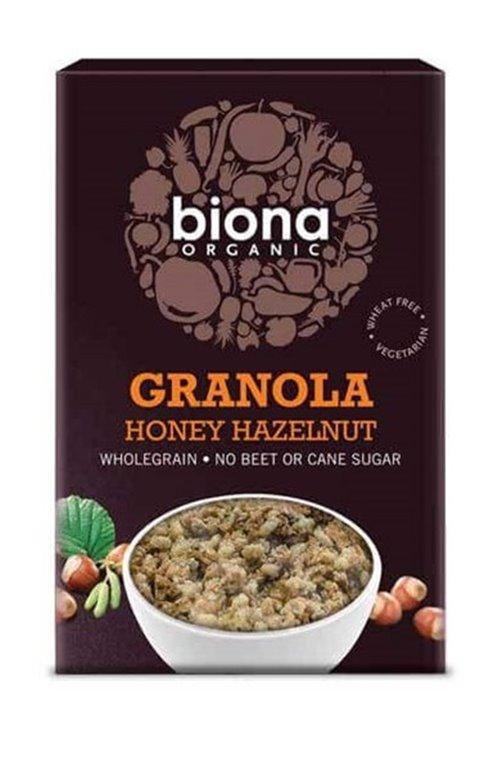 Granola de miel y avellanas BIO - Biona